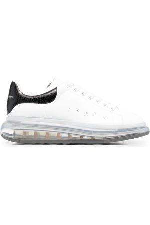 Alexander McQueen Herren Schnürschuhe - Logo-print lace-up sneakers