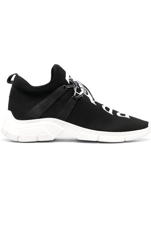 Prada Two-tone lace-up sneakers