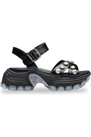 Miu Miu Embellished chunky sandals