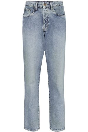 Miu Miu Damen Baggy & Boyfriend - High-waisted boyfriend jeans