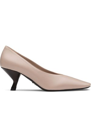 Prada Pointed toe mid-heel pump