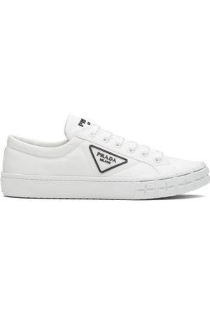 Prada Wheel Cassetta lace-up sneakers