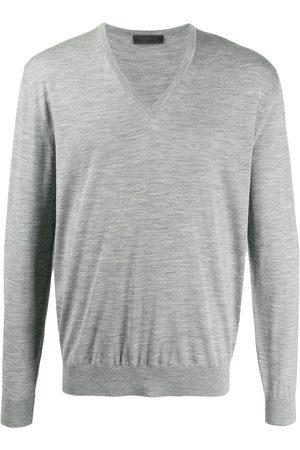 Prada Melange v-neck jumper