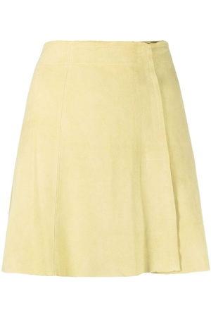 arma leder Damen Miniröcke - Suede A-line mini skirt