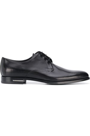 Prada Logo plaque Derby shoes