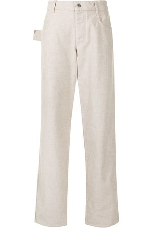 Bottega Veneta High waist straight-leg jeans