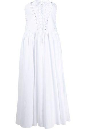 Philosophy Di Lorenzo Serafini Damen Freizeitkleider - Strapless flared midi dress