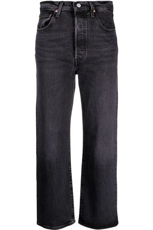 Levi's Ribcage high-rise straight jeans