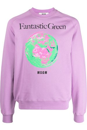 Msgm Fantastic Green sweatshirt