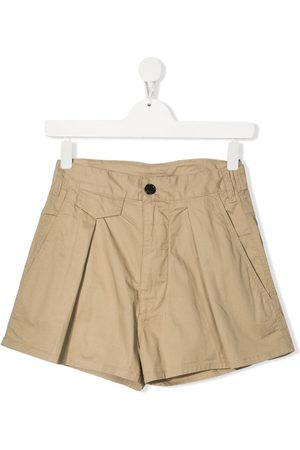 Dsquared2 TEEN high-waisted flared shorts