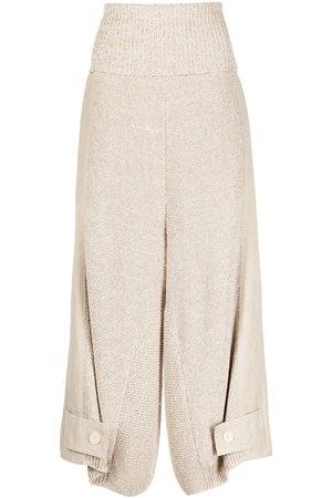 Stella McCartney Wide-leg knitted trousers