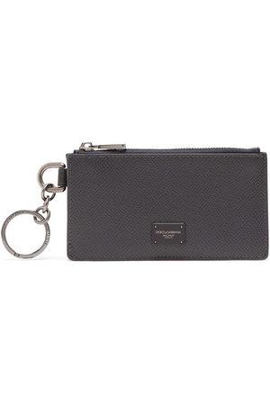 Dolce & Gabbana Herren Geldbörsen & Etuis - Logo plaque zipped cardholder