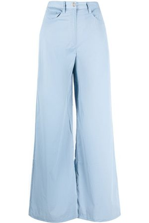 REMAIN High-waisted wide trousers