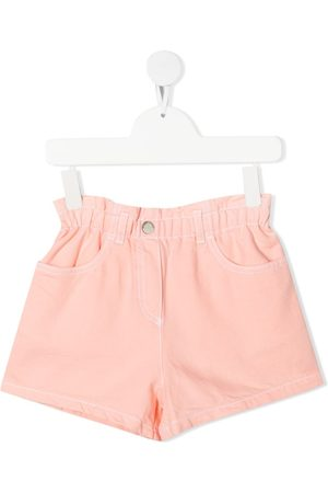 Emporio Armani TEEN elasticated-waist shorts