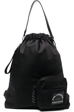 Karl Lagerfeld Rue St-Guillaume drawstring backpack