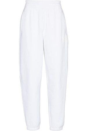 Alexander Wang Logo print loose-fit track pants