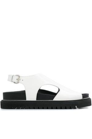 Plan C Damen Sandalen - Open toe flat sandals