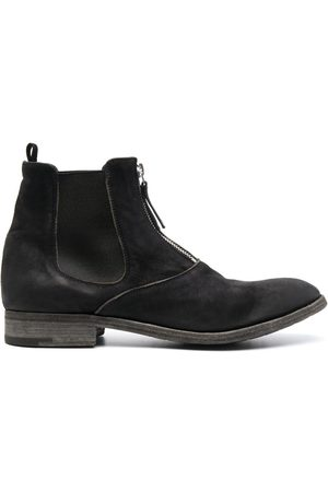 Premiata Front-zip desert boots