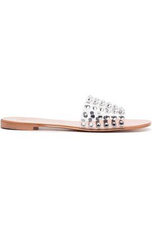 Giuseppe Zanotti Damen Sandalen - Crystal embellished sandals