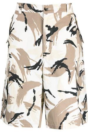 Kenzo Herren Shorts - Camouflage cargo Bermuda shorts