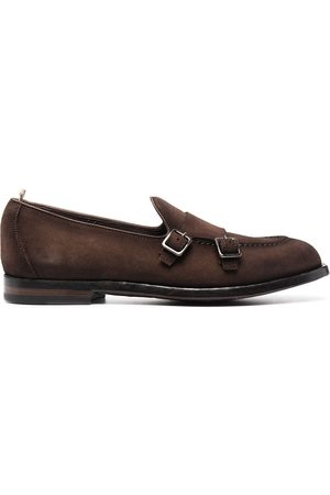Officine creative Ivy suede monk shoes