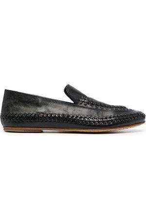 Officine creative Bessie braided-detail loafers