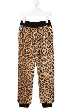 Philipp Plein Leopard-print joggers