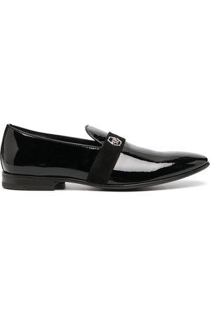 Philipp Plein Hexagon plaque loafers