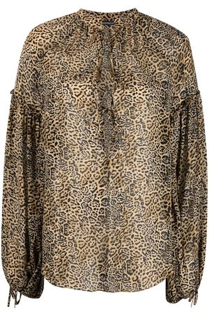 WANDERING Leopard print blouse