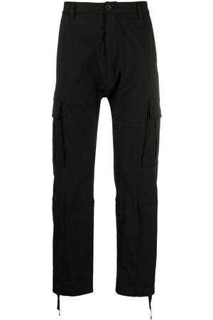 MARCELO BURLON Straight-leg cargo trousers
