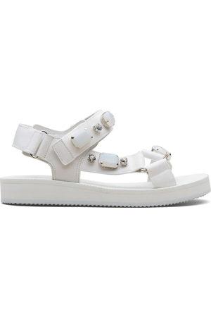 CAR SHOE Damen Sandalen - Crystal-embellished sandals