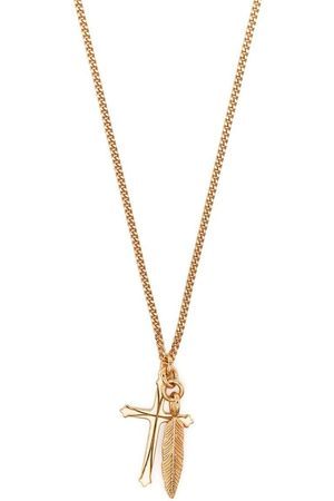 EMANUELE BICOCCHI Feather-pendant necklace