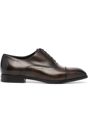 Bally Lace-up leather oxford shoes