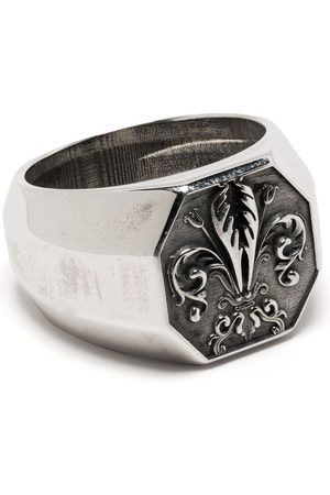 EMANUELE BICOCCHI Lily signet ring