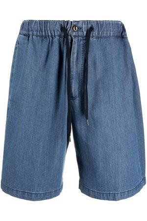 PT01 Herren Shorts - Drawstring-waist denim shorts