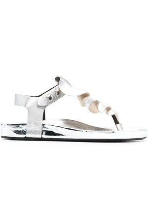 Isabel Marant Damen Sandalen - Ruffle-trim sandals