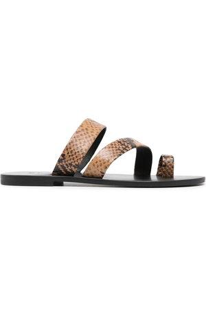 SENSO Damen Sandalen - Clyde III snakeskin-effect sandals