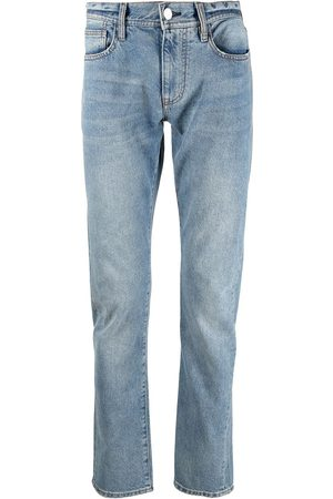 Armani Low-rise slim-cut jeans