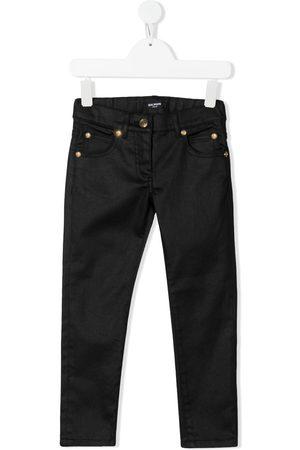 Balmain Jungen Jeans - Logo-print jeans