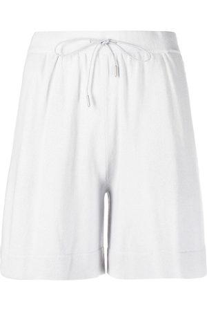 Fabiana Filippi High-waist cashmere shorts