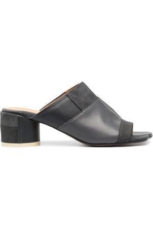 MM6 MAISON MARGIELA Damen Sandalen - Panelled block-heel sandals