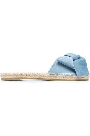 Manebi Bow-detail flat sandals