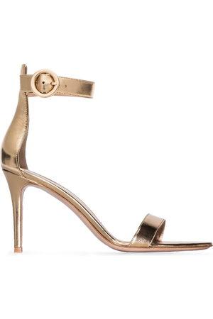 Gianvito Rossi Damen Sandalen - Portofino 85mm leather sandals