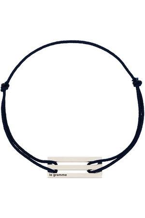 Le Gramme Sterling Le 2.5g cord bracelet