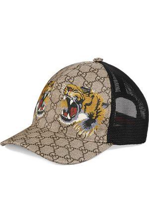 Gucci Herren Caps - Tigers print GG Supreme baseball cap