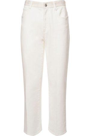 Stella McCartney Damen Straight - Jeans Aus Bio-baumwolldenim Mit Gerade Bein