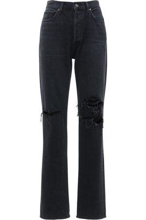 "AGOLDE Damen Straight - Tief Sitzige Gerade Jeans ""lana Jean"""