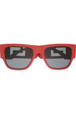 VERSACE Greca-arm square-frame sunglasses