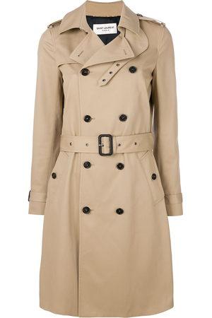 Saint Laurent Belted classic trench coat