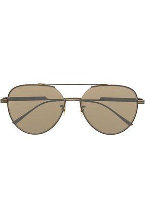 Bottega Veneta Sonnenbrillen - Aviator-frame tinted sunglasses